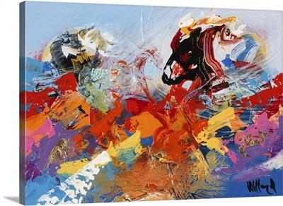 Abstract Ocean Blue II