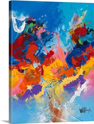 Abstract Ocean Blue IV