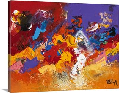 Abstract Purple II