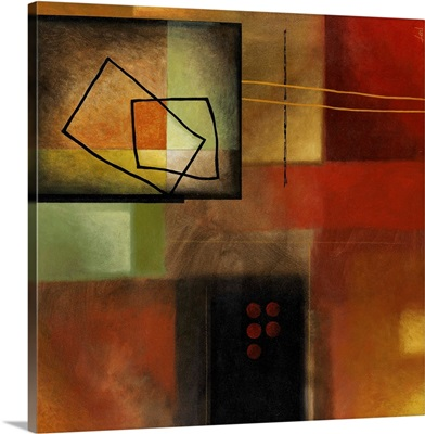 Abstract with Geometric Shape