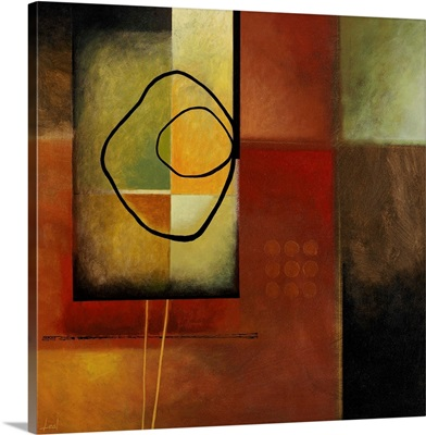 Abstract with Organic Shape
