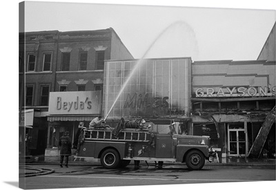 Aftermath of the April 1968 D.C. Riot
