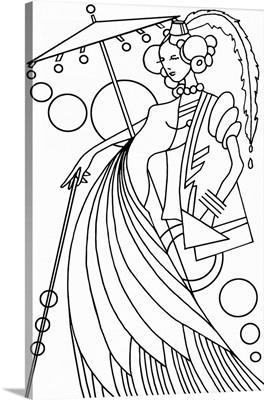 Art Deco Lady III