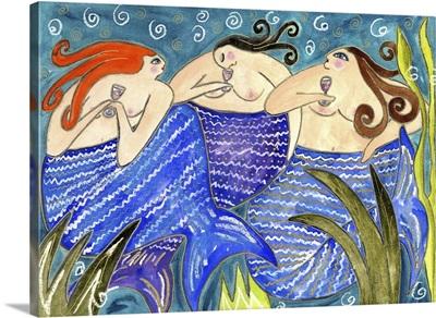Big Diva Mermaid Wine Club