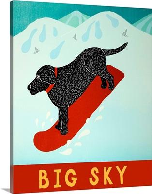 Big Sky Snowboard Black