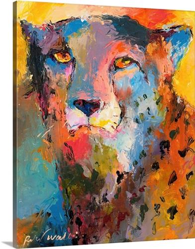 Cheetah Wall Art, Canvas Prints, Framed Prints, Wall Peels | Great ...