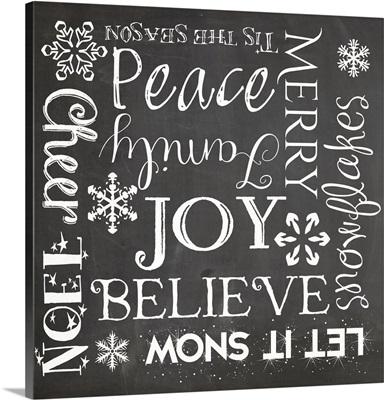 Christmas Chalk I