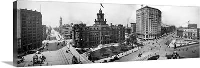 City Hall and Campus Martius, Detroit