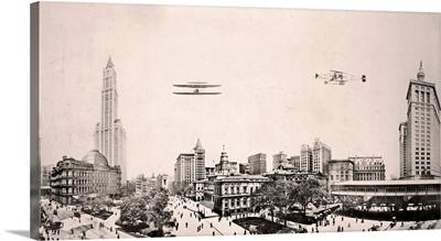 City Hall Park NYC 1913