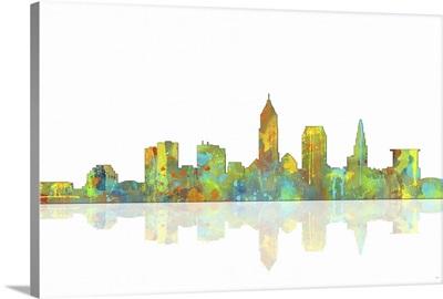 Cleveland Ohio Skyline I