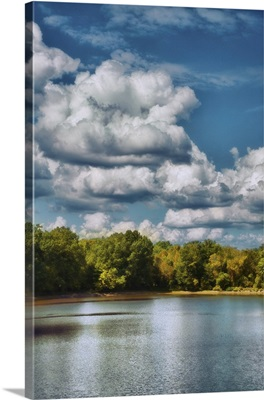 Clouds Over The River Cove