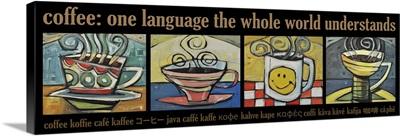 Coffee World Poster