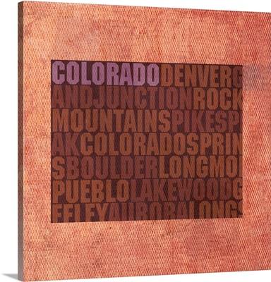 Colorado State Words