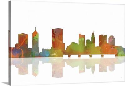 Columbus Ohio Skyline I