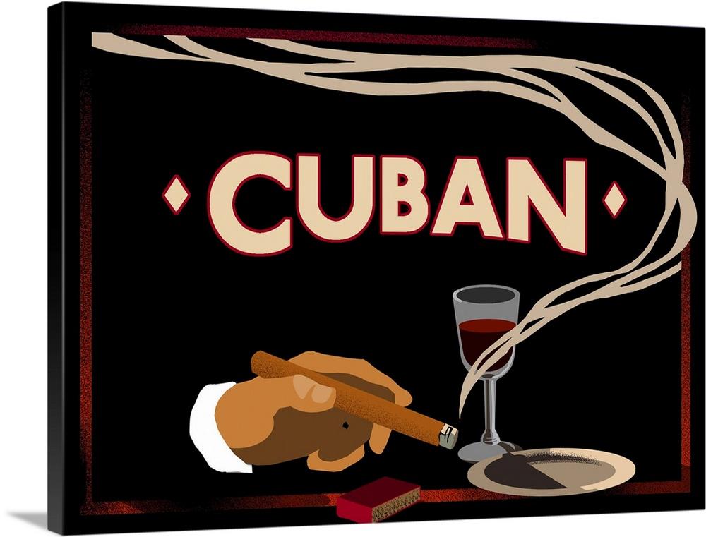 Vintage cigar art apologise