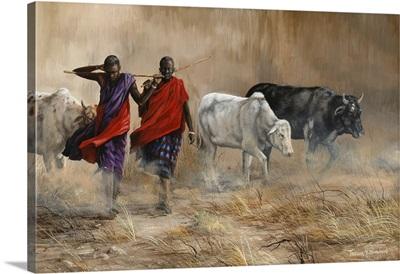 Dusty Cattle Drive