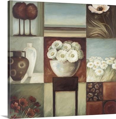 Floral Montage I
