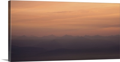 Foggy Mountain Layers