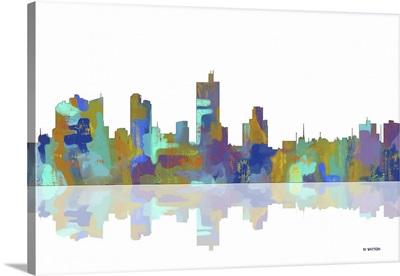 Fort Worth Texas Skyline I