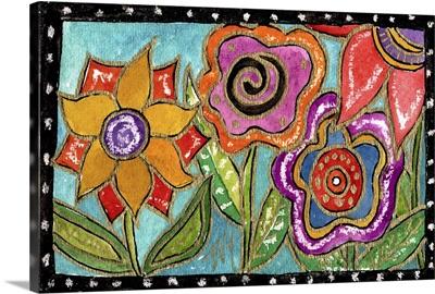 Funky Flower Garden