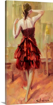 Girl in A Copper Dress III