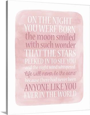 Girl Night Born