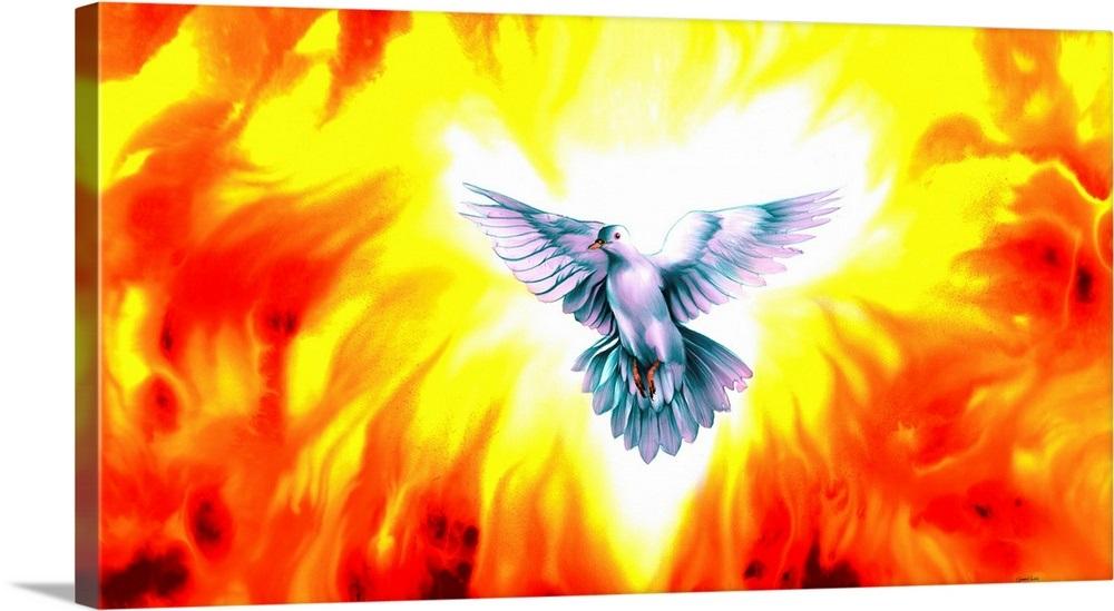 holy spirit fire wall art canvas prints framed prints wall peels