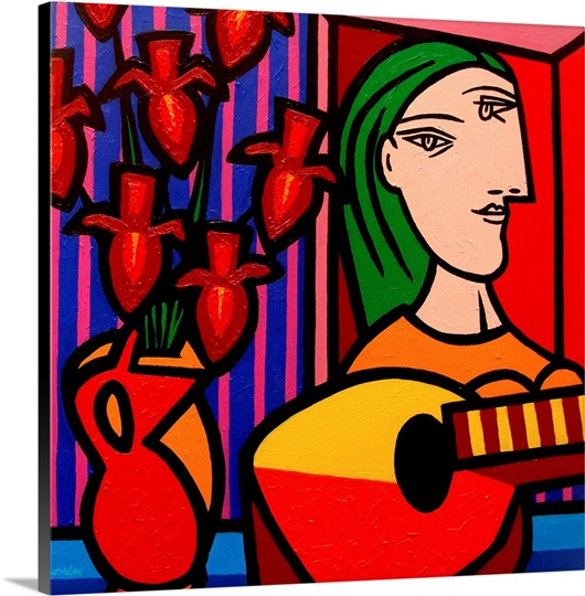 Homage To Picasso I Wall Art, Canvas Prints, Framed Prints, Wall ...