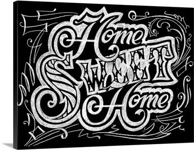 Home Sweet Home - Chalkboard Art
