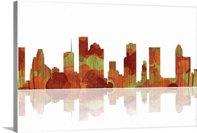 Houston Texas Skyline I