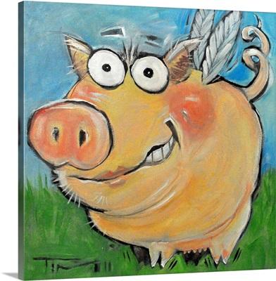 Hovering Pig