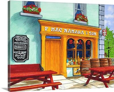 Ireland - Macnamara's Pub, Bunratty