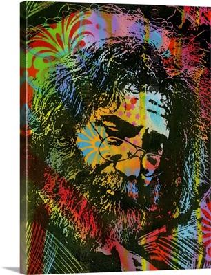 Jerry Garcia Playing