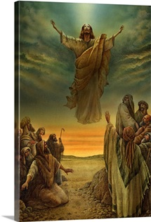 Jesus Ascending into Heaven