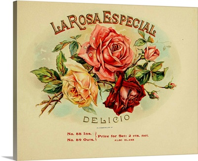 La Rosa - Vintage Cigar Box