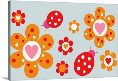 Ladybird Flowers