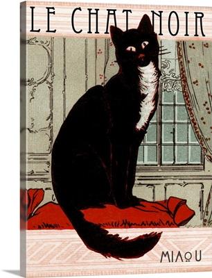Le Chat Noir - Vintage Advertisement