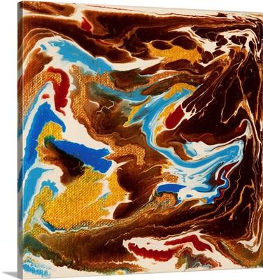 Liquid Industrial IIII - Canvas XIX