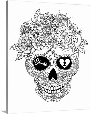 Lost Love Sugar Skull
