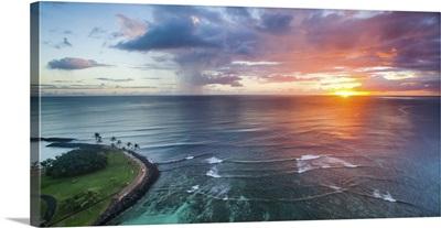Magic Island Sunset Wide