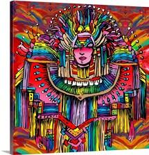 Mardi Gras Lady I