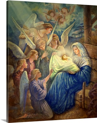Mary and Newborn Jesus