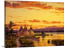 Northern Blackfoot Hunters Camp