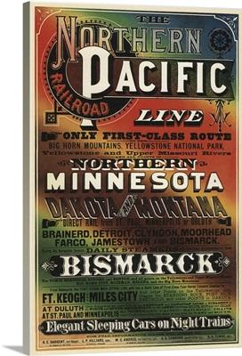 Northern Pacific - Vintage Travel Advertisement
