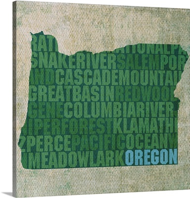 Oregon State Words