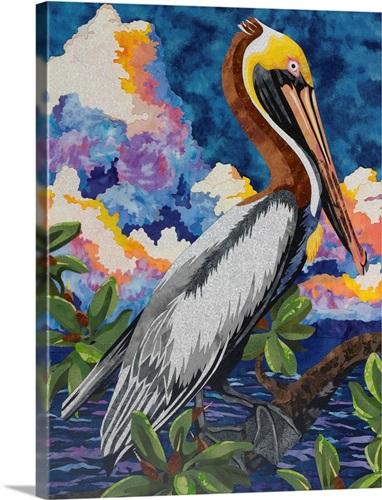 Pelican Wall Art, Canvas Prints, Framed Prints, Wall Peels | Great ...