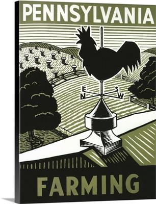 Pennsylvania Farming - Vintage Advertisement