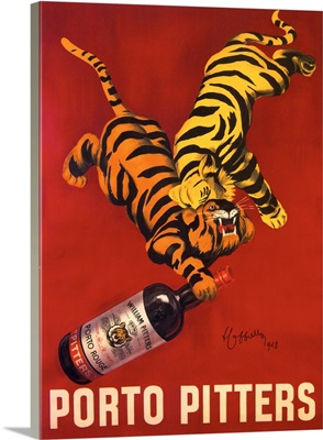 Porto Pitters - Vintage Liquor Advertisement