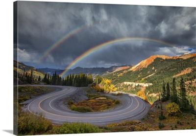 Red Mountain Rainbow