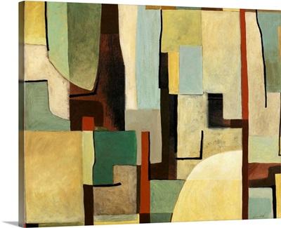 Retro Abstract Art I